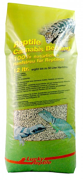 Lucky Reptile Cannabis Bedding 12 Liter