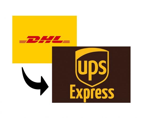 Diff Express zu Standardversand