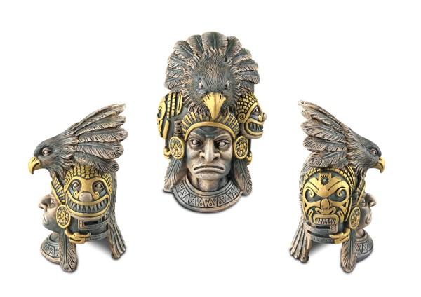 Exoterra Aztec Adler-Krieger Versteck 15,5x14x22cm