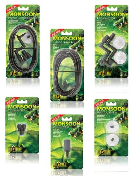 Ersatzteile für Exoterra Monsoon Beregnungsanlage