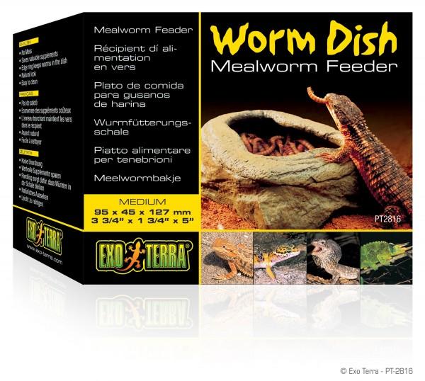 Exoterra Worm Dish Wurmfütterungsschale, 13x9x4cm