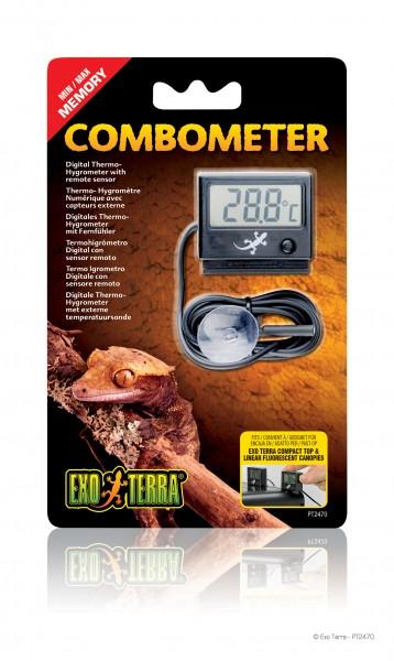 Exoterra Digital Thermometer & Hygrometer mit Fühler
