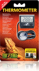 Exoterra Digitales Thermometer mit Messfühler