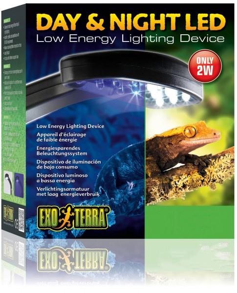 Exoterra LED Tag + Nachtbeleuchtung & Halterung