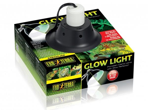 Exoterra Glow Light Porzellan Klemmlampe