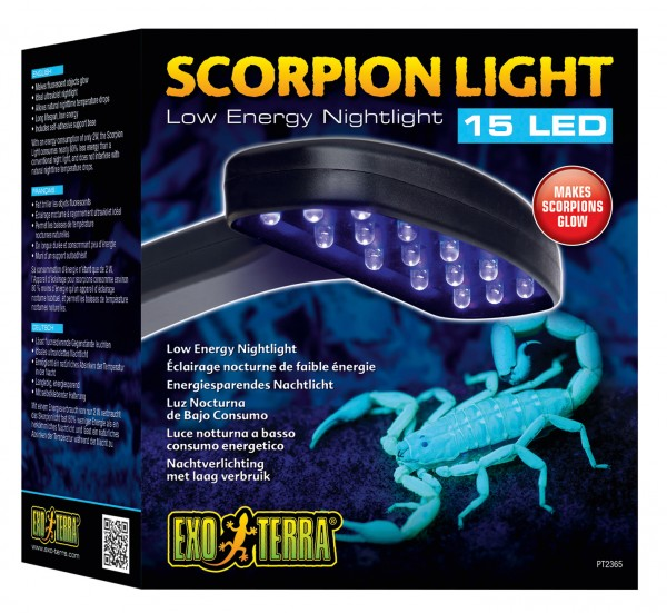 Exoterra Scorpion Light, LED Nachbeleuchtung