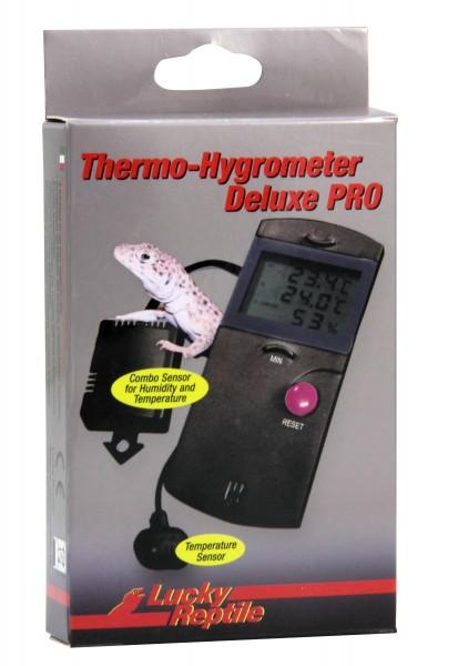 Lucky Reptile Thermo/Hygro Deluxe PRO, Min./Max mit 2 F.