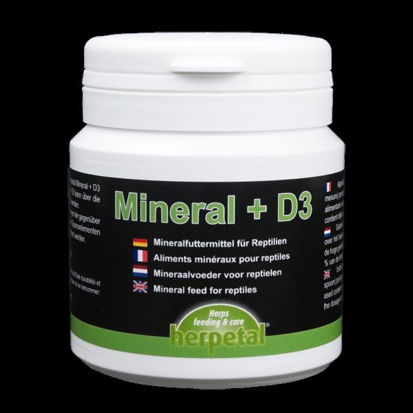 Herpetal Mineral+D3