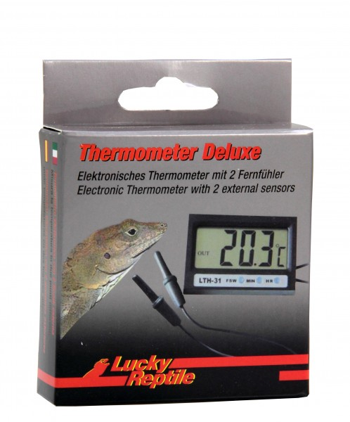 Lucky Reptile Thermometer Deluxe mit 2 Fernfühler