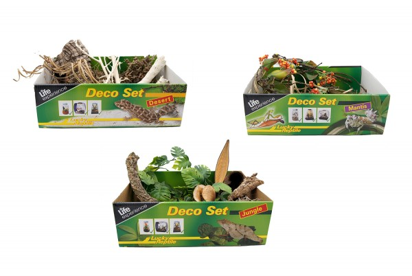 Lucky Reptile Life Experience Deco Sets