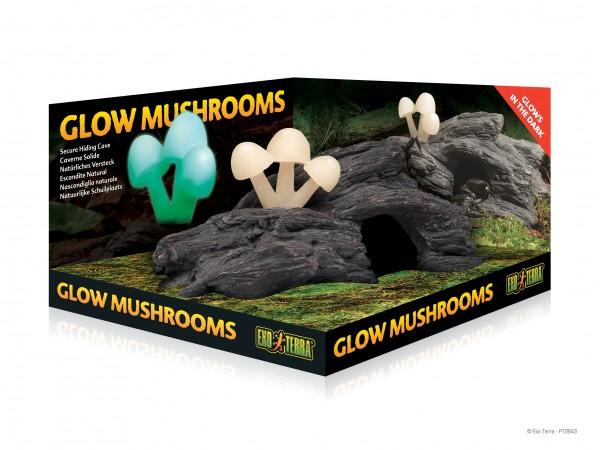 Exoterra Glow Mushrooms, leuchtende Pilze