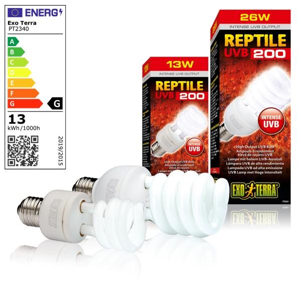 Exoterra Reptile UVB 200 Kompaktlampe