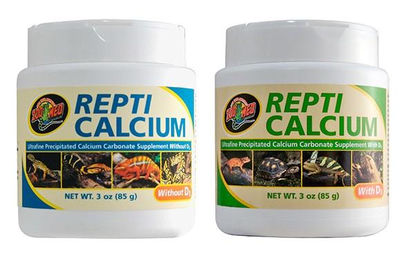 Zoo Med Repti Calcium mit & ohne D3