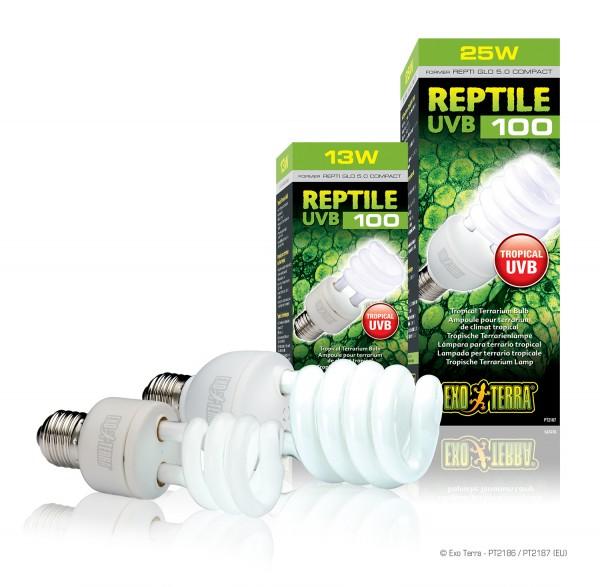 Exoterra Reptile UVB 100, Kompaktlampe