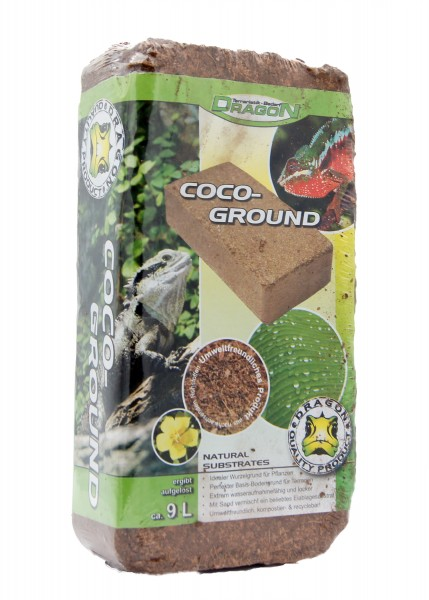 Coco-Ground Brikett