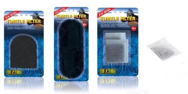 Exoterra Ersatzfilter & Pads für Turtle Filter FX-200