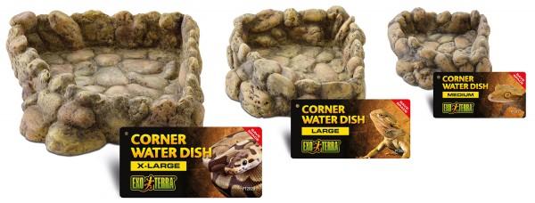 Exoterra Corner Water Dish, Eck Wasserschale