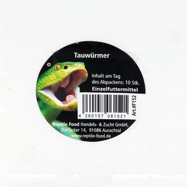 Tauwürmer Styropor Dose 10 Stk