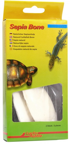 Lucky Reptile Sepia Bone, 2 Stck. im Blister
