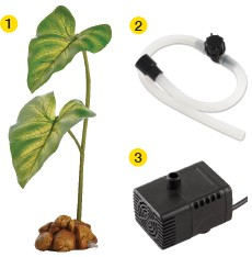 Exoterra Dripper Plant mit Pumpe