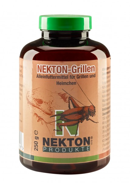 Nekton Grillen, 250g, Futter für Futterinsekten