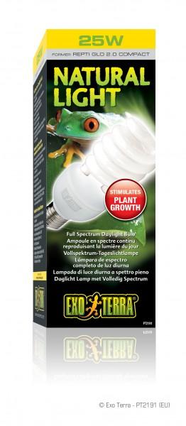 Exoterra Natural Light, Kompakt Lamp, 25 Watt