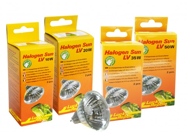 Lucky Reptile Halogen Sun LV Doppelpack