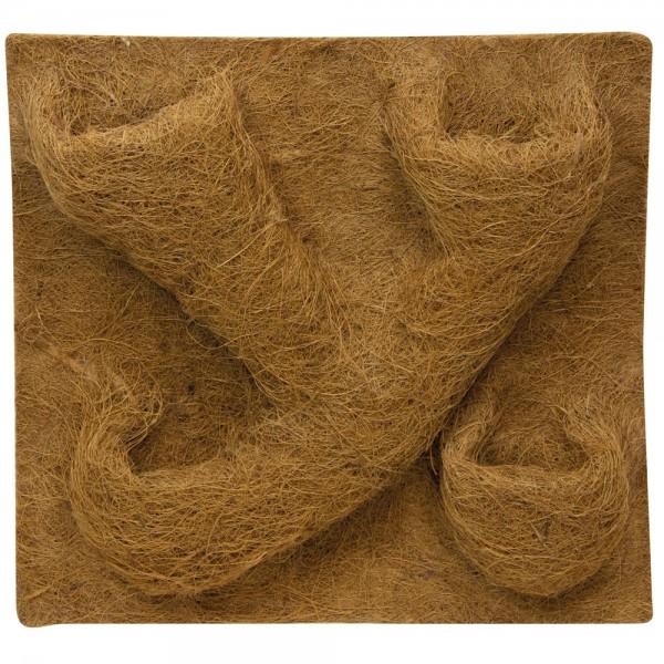 Hobby Kokusfaserrückwand mit Pflanztaschen 50x50 cm