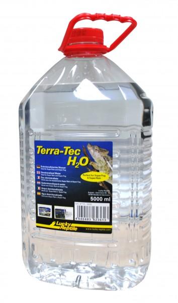 3 er Spar Pack Terra-Tec H2O 5000ml, entmineral. Wasser FREI HAUS
