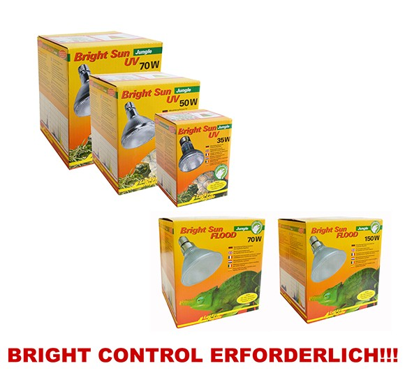 Lucky Reptile Bright Sun UV JUNGLE für Regenwalterrarien