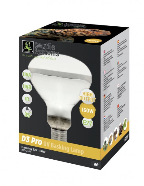 Reptile Systems D3 UV Basking Lampe
